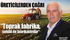 Toprak fabrika, sahibi de fabrikatördür