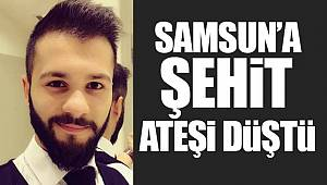 Mersin'deki kazada Samsunlu asker şehit oldu