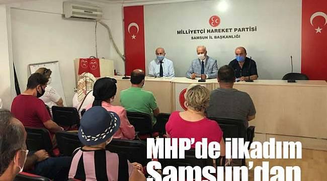 MHP'nin ilk ilçe kongresi Samsun'da yapılacak