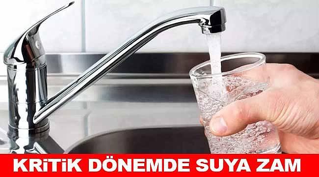 İzmir'de suya zam