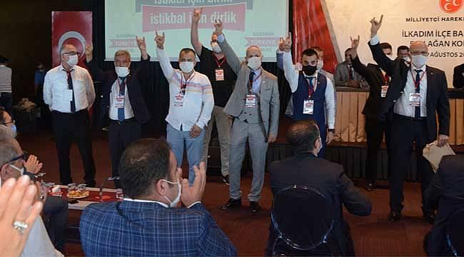 MHP'de ilk kongre gerçekleşti