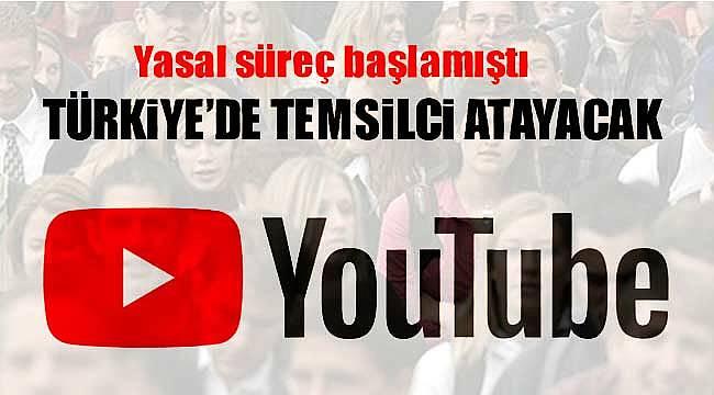 Youtube Türkiye'de temsilci atayacak