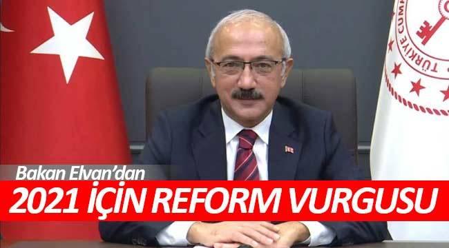 2021 yılı makroekonomik istikrara için reform yılı olacak