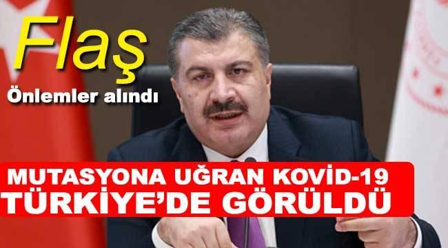 Mutasyona uğrayan Kovid-19 Türkiye'de görüldü