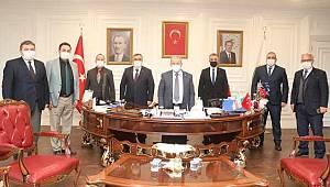 Genel başkandan, Demirtaş'a ziyaret