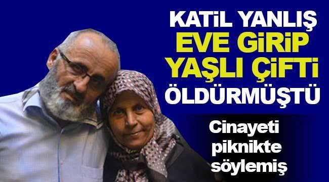 Konya'da yanlışlıkla öldürüldükleri ortaya çıkan yaşlı çift cinayetini katil piknikte söylemiş