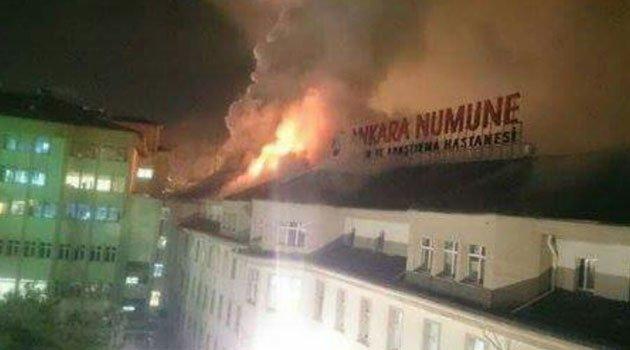 Ankara Numune Hastanesinde Yangın Büyük Panik Korku Yaşandı Güncel