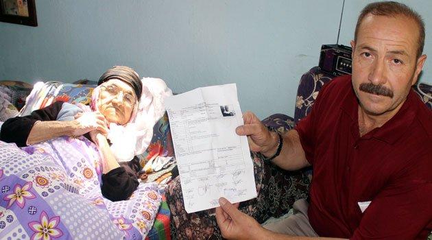 Engelli sağlık raporları artık insanları çileden çıkartıyor, 1 puan mağduru nine