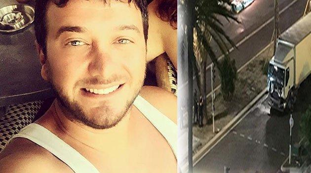 Kiralık Aşk'ın Koriş'i Onur Büyüktopçu Nice'de terör saldırısından kıl payı kurtuldu