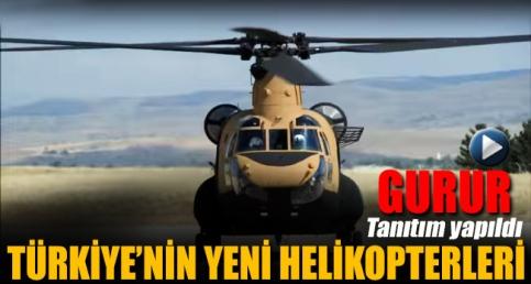 TSK yeni helikopterlerin görüntüsünü paylaştı
