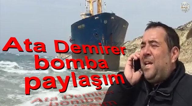 Ata Demirer'in gemi önünde telefon şakası espirileri gülmekten yıktı